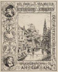 Vos & Zoon voorheen Vos & Walter. Restaurateurs van schilderijen. Decoratieschil…