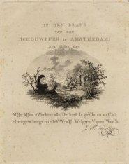 Op den Brand van den Schouwburg te Amsterdam Den Elfden May ... etc