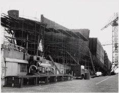 Een van de laatste bouwstadia van de tanker ms. Doha