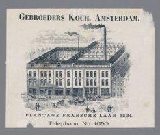 Spiegelfabriek van de Gebroeders Koch, Henri Polaklaan 32-34