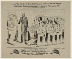 Politie. Hoofdcommissaris Franken (1860-1927) geeft les. Bijvoegsel Geïllustreer…