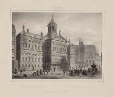 Amsterdam. Het Koninklyk Paleis / Le Palais du Roi