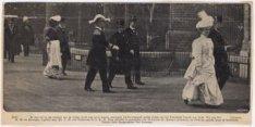 Bezoek van koningin Wilhelmina en prins Hendrik aan Amsterdam, 1907
