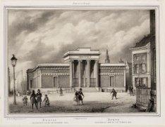 Bourse inaugurée le 10 septembre 1845. Beurs ingewijd op den 10e september