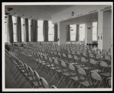 Apollolaan 15, aula in het gebouw van de Rijksverzekeringsbank uit 1937-'39 van …