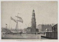 De Haringpakkerstoren met de Nieuwe Stadsherberg