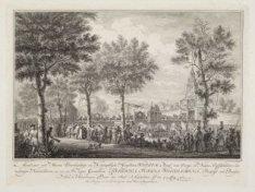 Aankomst van Hunne Doorluchtige en Koningklijke Hoogheden Willem, Prinse van Ora…