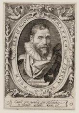 Portret van Karel van Mander (1548-1606)