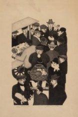 Kerstmarkt. De voortekening is eveneens in de collectie van het Stadsarchief. Te…