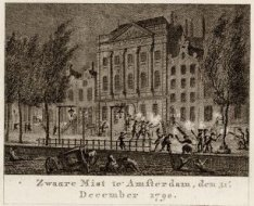 Zwaare Mist te' Amsterdam, den 31e. December 1790