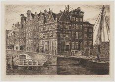Brouwersgracht 101A-105, links Prinsengracht 2-14 (v.l.n.r.) en rechts de Linden…