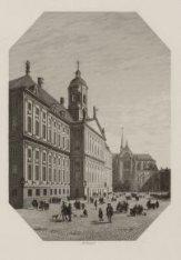 Het Stadhuis te Amsterdam