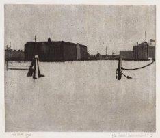 Het Oosterdok gezien in oostelijke richting naar Scheepvaartmuseum