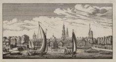 De Buiten Amstel, gezien naar de stad