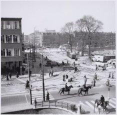 Nieuwbouw van de Oude Kinkerbrug, brug 169 tussen Marnixstraat, over de Singelgr…
