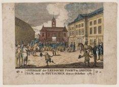 Overgaaf der Leydsche Poort te Amsterdam, ... etc