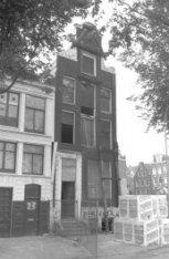 Haarlemmer Houttuinen 23 (ged.) - 25, voorgevels. Rechts Buiten Brouwersstraat 1…