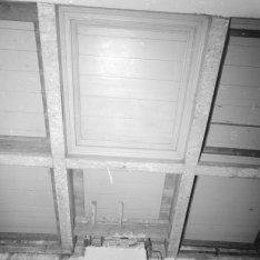 Nieuwe Doelenstraat 24, Doelen Hotel, detail van het plafond