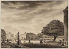 De Booter Markt en Reguliers Waag te Amsterdam