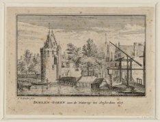 Doelen-Toren aan de Waterzy tot Amsterdam 1607