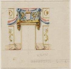 Bezoek koning Willem I aan Amsterdam
