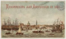 HERINNERING AAN AMSTERDAM IN 1883