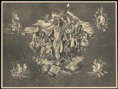 Muurschildering van kunstschilder Charles Eijck in chamois-uitvoering in het geb…