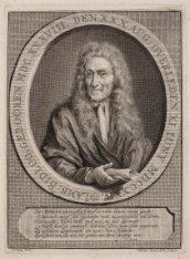 Portret naar aanleiding van het overlijden van dichter Lambert Bidloo (1638-1724…