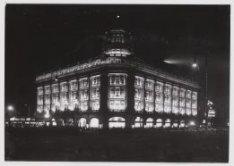 Edison Lichtweek: Verlichting gebouw Hirsch, Leidseplein