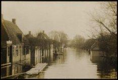De Meerweg in Buiksloot, watersnood 1916