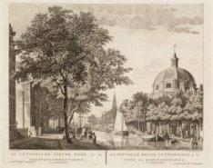 De Luthersche Nieuwe kerk en de Haringpakkerstoren