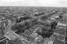 Raadhuisstraat vanaf de toren van de Westerkerk, Prinsengracht 279-281