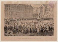 Plegtige Begravenis van den Luit. Adm. M.A. De Ruiter