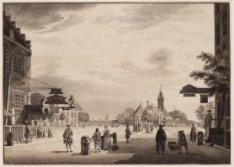 De Haarlemmer Poort te Amsterdam van binnen (verso)