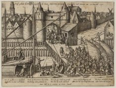 Aanslag op Amsterdam op 23 November 1577, door Kapitein Helling en Ruikhaver