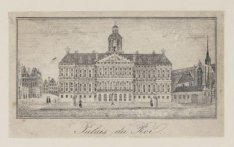 Het Koninklijk Paleis omstreeks 1835
