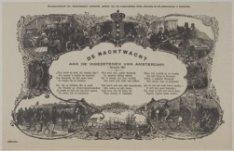 De Nachtwacht | Aan de ingezetenenen van Amsterdam. 1 Januarij 1851