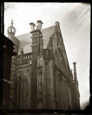Dam 12: Nieuwe Kerk, exterieur, details