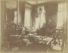Keizersgracht 630. De studeerkamer van mr. Samuel Katz (1845-1890), advocaat