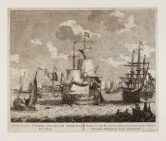 Gesigt uyt het Y omtrent Durckerdam siende naar Zee-Burg