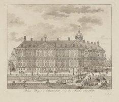 Paleis Royal à Amsterdam près du Marché aux fleurs