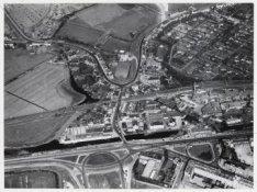 Luchtfoto van Sloterdijk en omgeving gezien in noordelijke richting