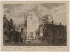 Gezicht van de Gasthuys-Kerk, tot Amsterdam