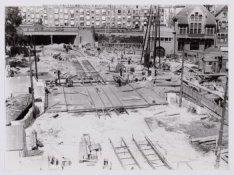 De bouw van de Mirakelbrug