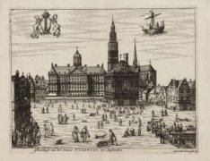 Afbeeldingh van het Nieuwe Stadhuys, tot Amsterdam