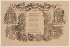 Nachtwachtwensch. Januarij 1861