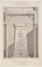 Grafmonumnet van J.C.J. van Speyk in de Nieuwe Kerk te Amsterdam. Vervaardigd do…