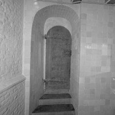 Oudekerksplein 23, Oude kerk, deur in de kooromgang. Achterzijde van BMAB0003100…