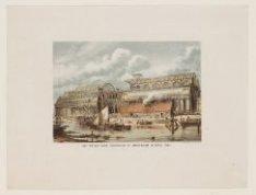Het Paleis voor Volksvlijt te Amsterdam in April 1862