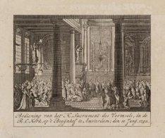 Bediening van het H. Sacrament des Vormsels in de R.C. Kerk op 't Begijnhof te A…
